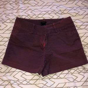 Purple Ann Taylor shorts